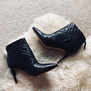 Charles David Kelina Quilted Leather Ankle Boot
